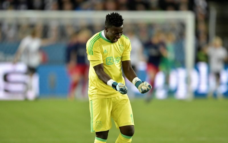 West Ham thought to be keen on Andre Onana