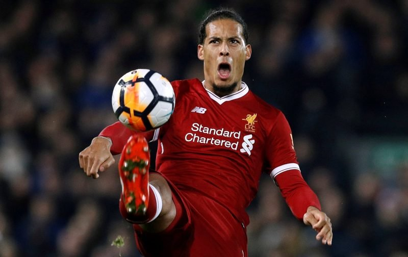 Huge 83% of Liverpool fans think van Dijk can carry defence during injury problems