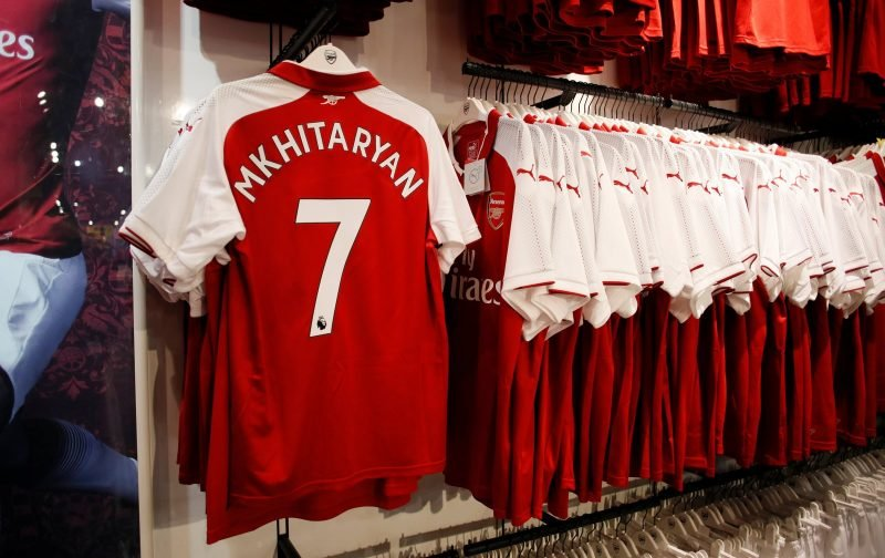 Mkhitaryan's current form is promising for Arsenal fans on Twitter
