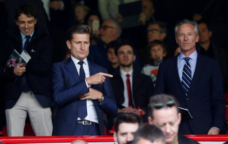 Steve Parish and Crystal Palace can be pleased with how the club's summer has gone