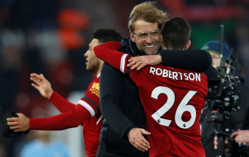 Andy Robertson's Scotland call-up hasn't surprised many Liverpool fans
