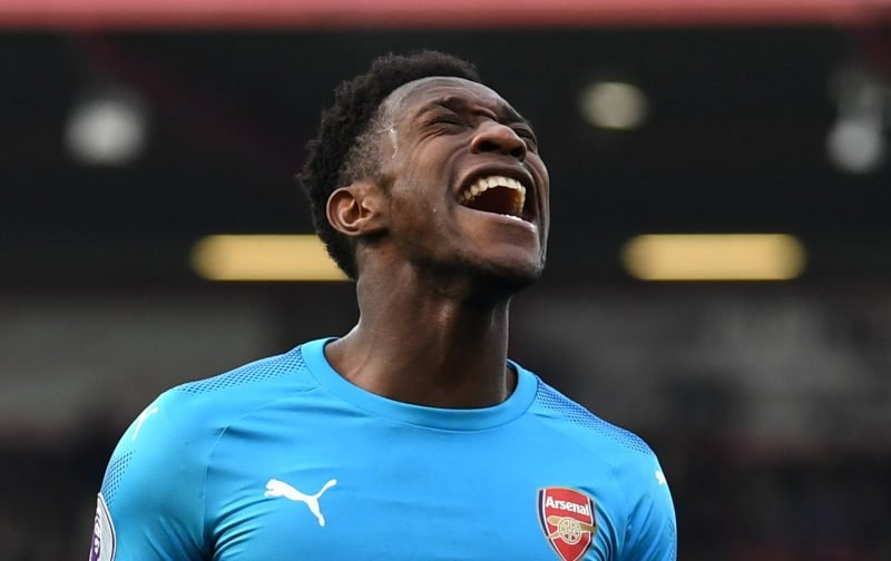 Arsenal fans on Twitter eager to see a few more years of Danny Welbeck
