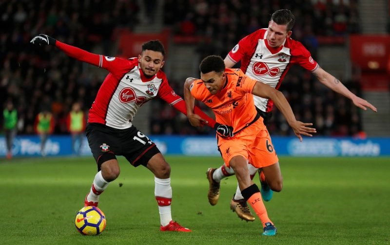 Some Southampton fans are impressed by Sofiane Boufal's commitment