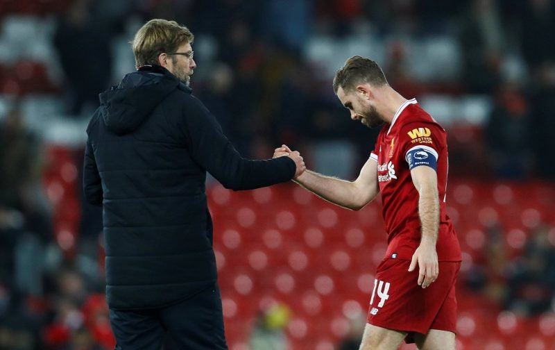Liverpool fans react to Henderson and Keita's injury update