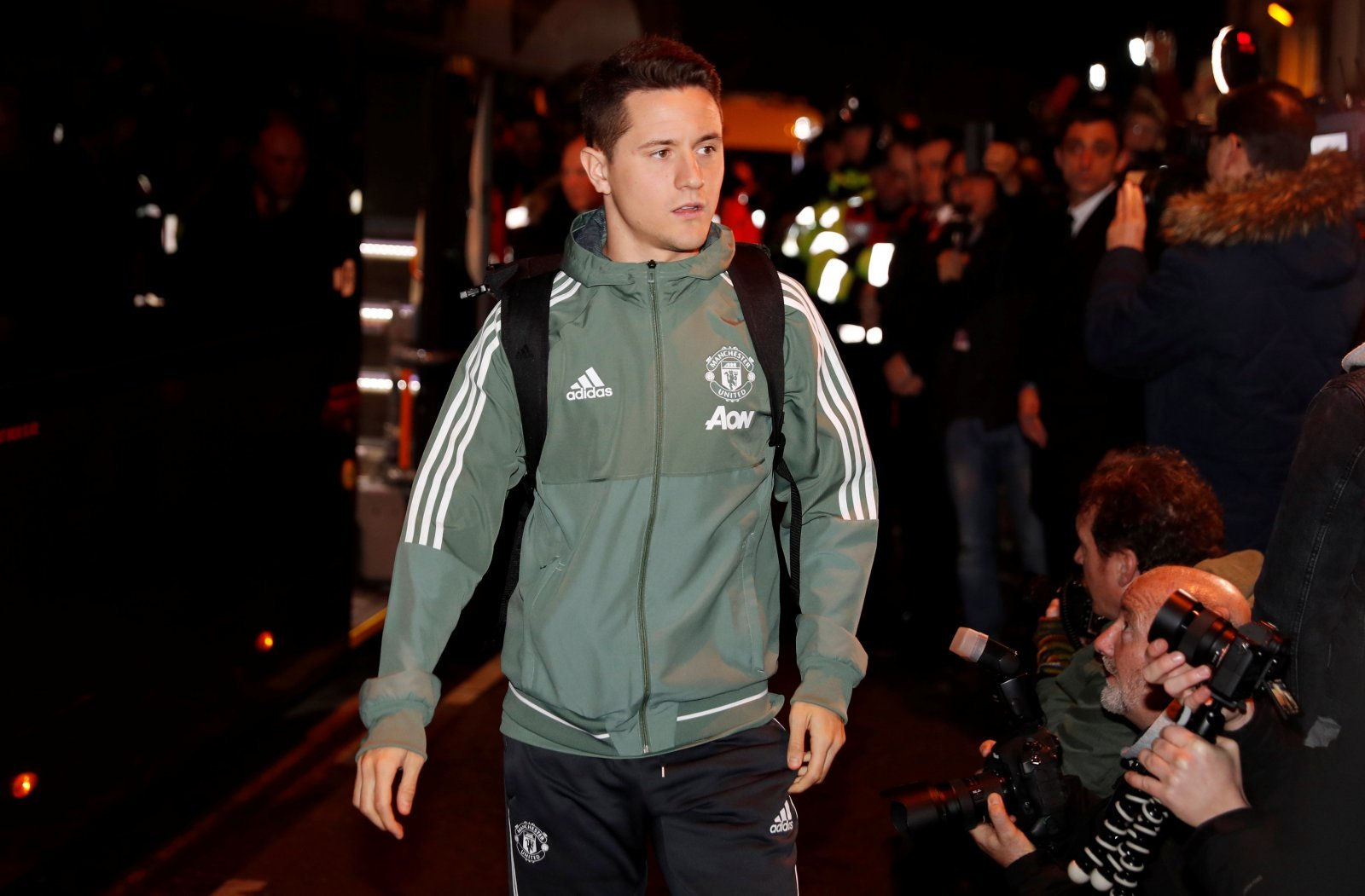 f41aa5cc2ead0 The Manchester United fans in the Transfer Tavern have been reacting to  comments made by their 28-year-old midfielder, Ander Herrera.