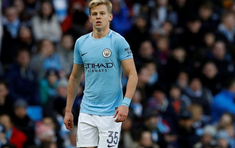 Celtic show late interest in Oleksandr Zinchenko