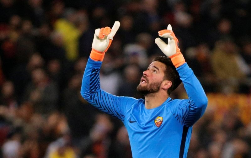 Liverpool fans on Twitter love that Roma are becoming their feeder club as Alisson deal nears
