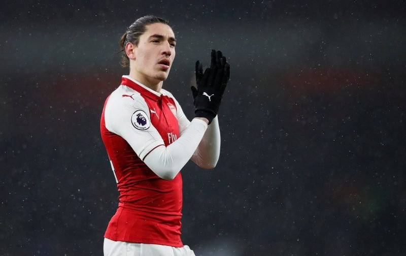 Arsenal fans on Twitter call for Bellerin to be rested