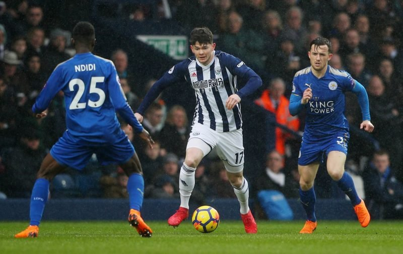 Oliver Burke pushing for West Brom start