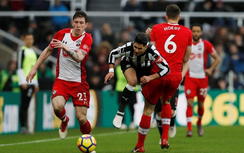 Hareide comments on Hojbjerg show just how far the Southampton midfielder has come this season