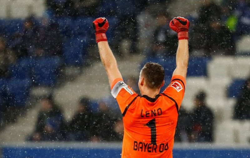 Bernd Leno is one man that Arsenal fans really want to see start