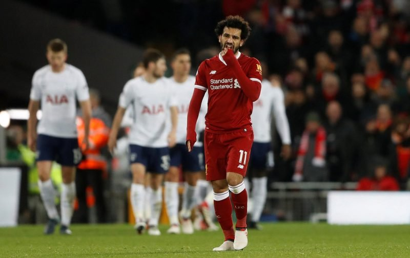 Liverpool fans on Twitter loved seeing Salah back at it yesterday