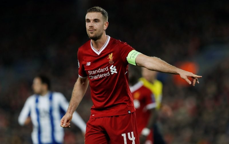 Liverpool fans on Twitter pleased to see Henderson ruled out of Red Star and Cardiff clashes