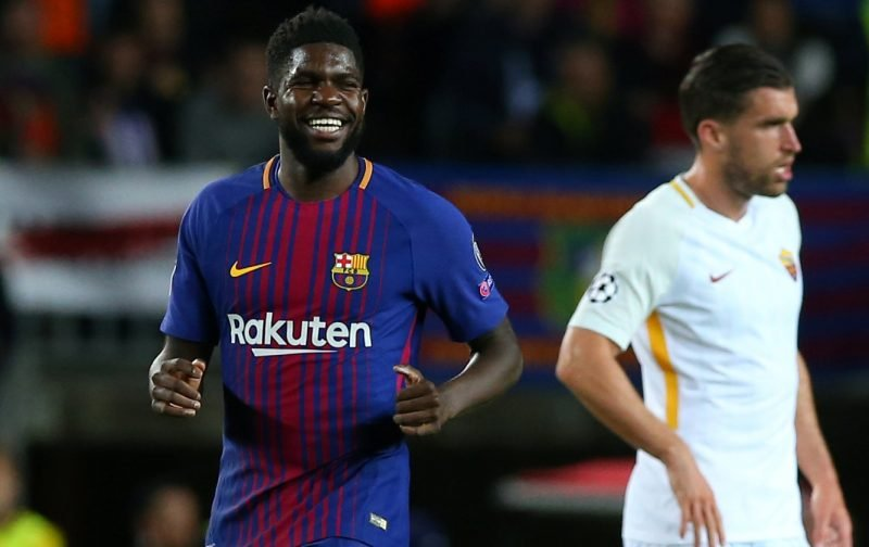 Barcelona: Fans are delighted to see Samuel Umtiti back in the first-team squad