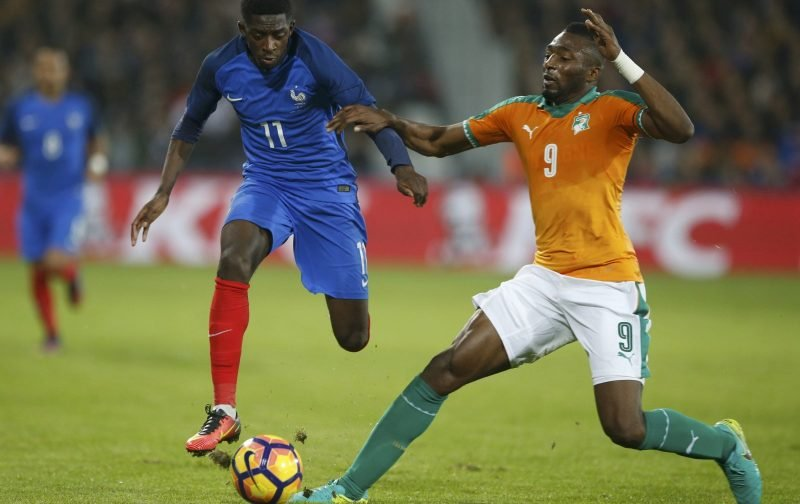 Crystal Palace tracking Wilfried Kanon