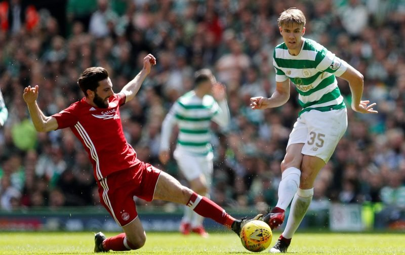 Celtic suffer another defensive blow as Kristoffer Ajer faces time out