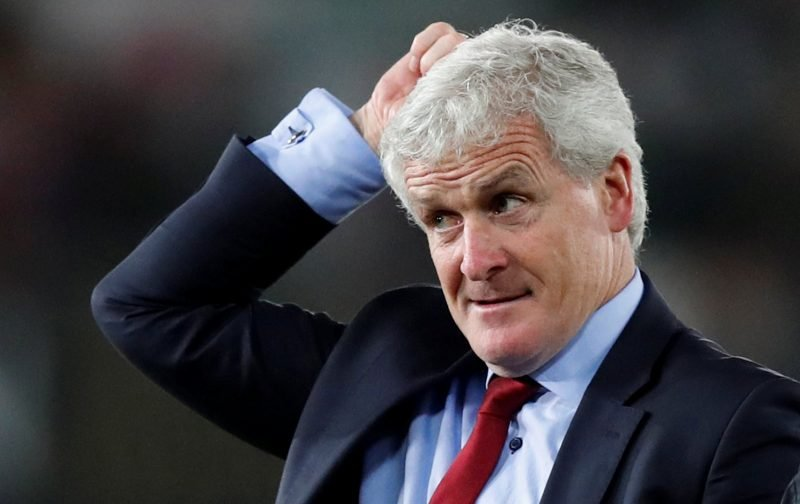 Southampton fans on Twitter all wanted to see Hughes sacked at half-time yesterday