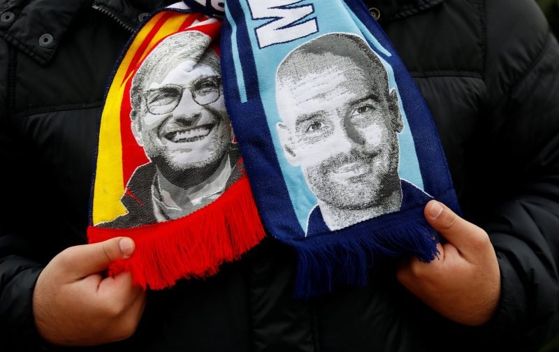 This exchange between Klopp and Guardiola had Liverpool fans in stitches