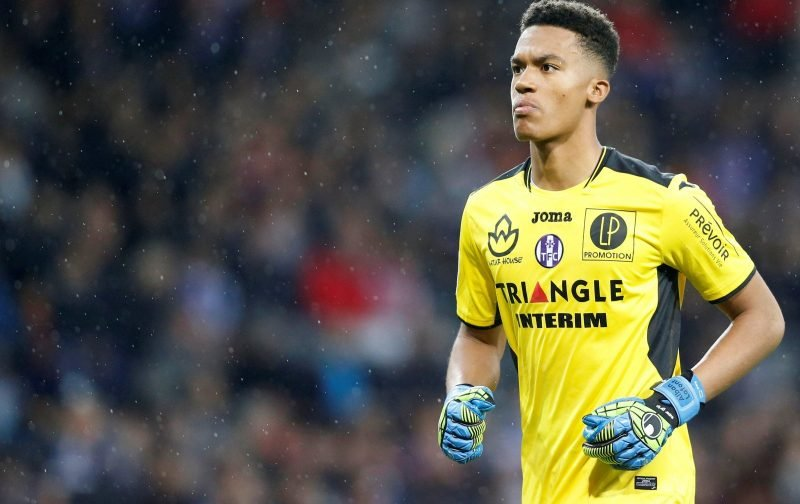 Alban Lafont would comfortably step into Petr Cech's shoes at Arsenal in the summer