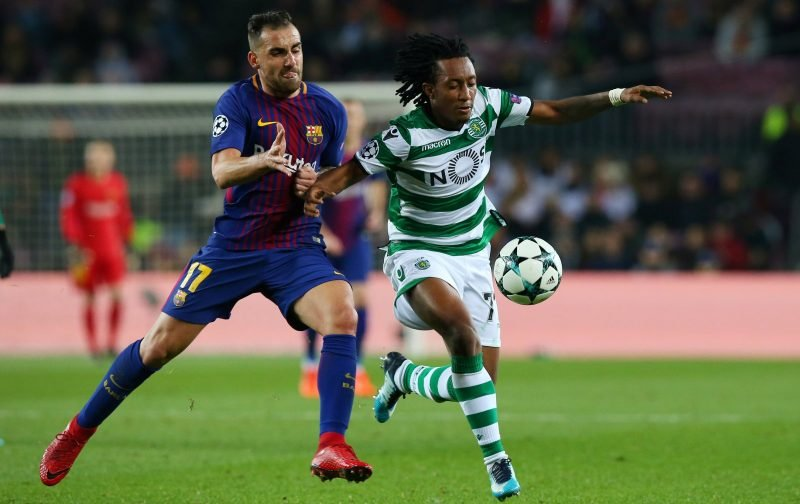 Liverpool keeping tabs on Gelson Martins