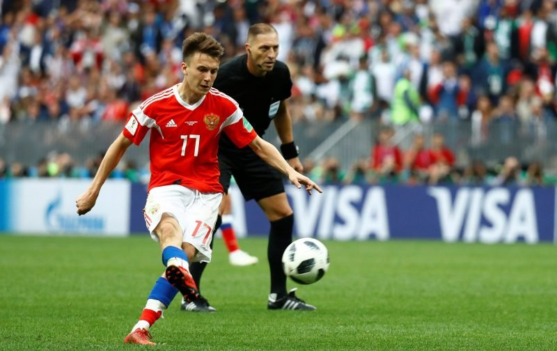 Aleksandr Golovin is a much better fit for Liverpool than Nabil Fekir