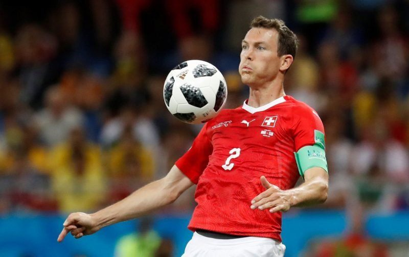 Arsenal fans desperate to see Lichtsteiner from the start tonight
