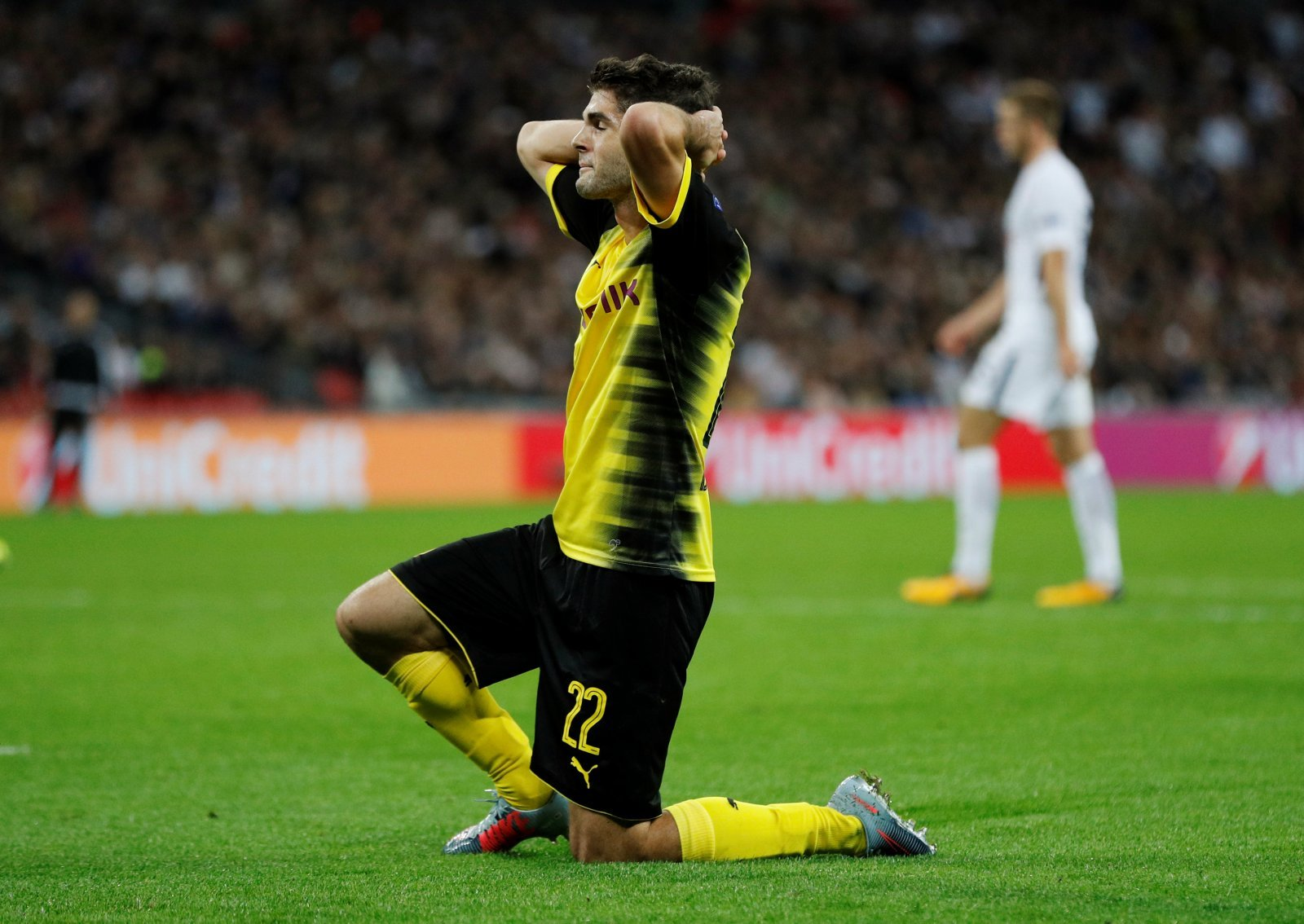 Pulisic is asking a lot of dead and buried Borussia Dortmund following Tottenham defeat