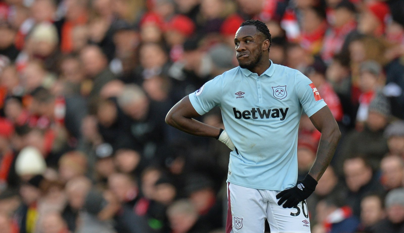 West Ham United: Michail Antonio could miss Wolves clash with injury