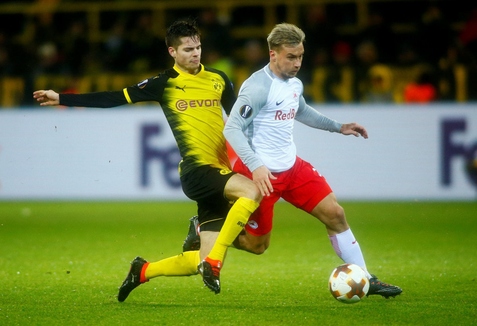 Axel Witsel's arrival at Borussia Dortmund should prompt Levy to bid for Julian Weigl