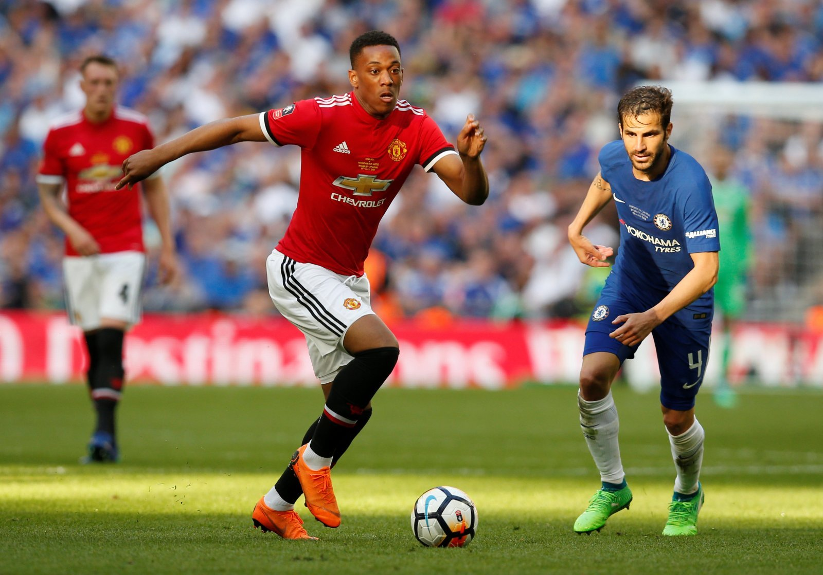 Tottenham fans call for Martial to sign after he's fined £180,000