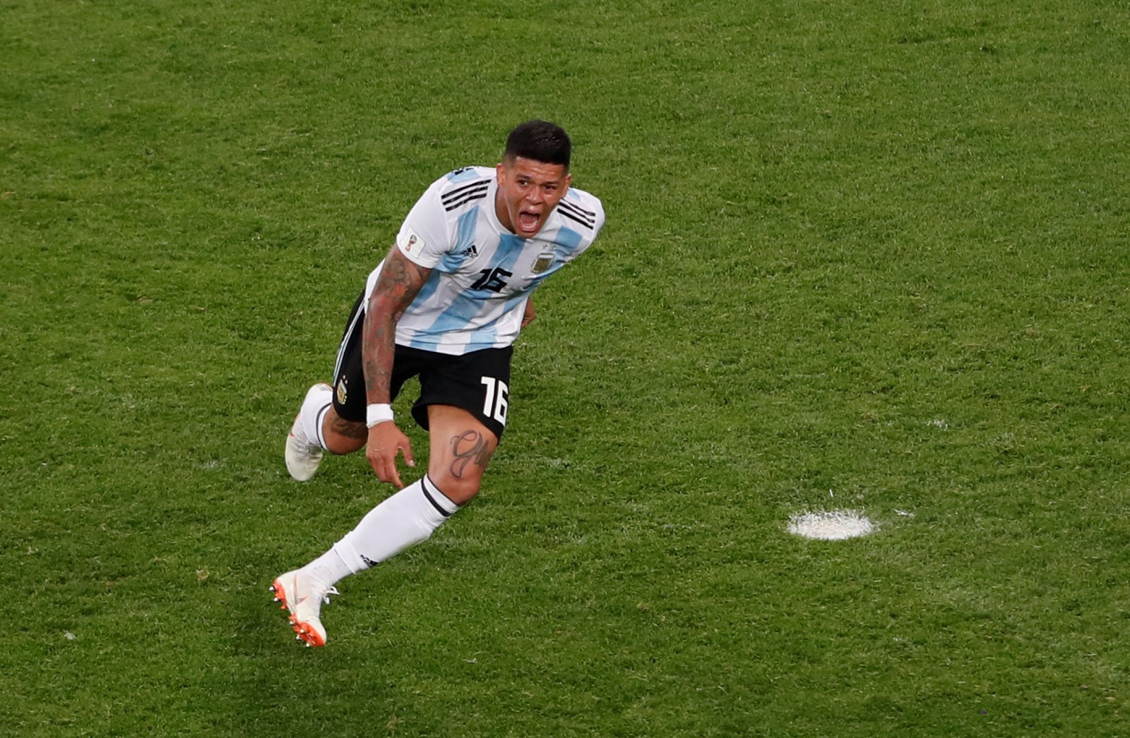 £20m-valued Marcos Rojo could be the defender West Ham are looking for