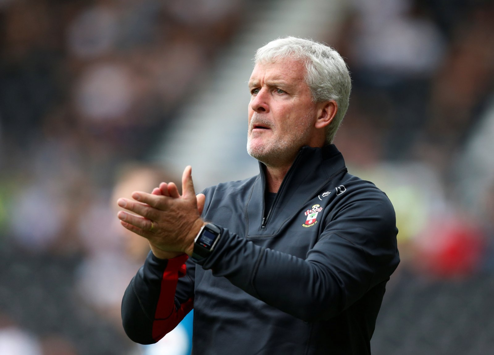 Mark Hughes states dipping into transfer market is unlikely