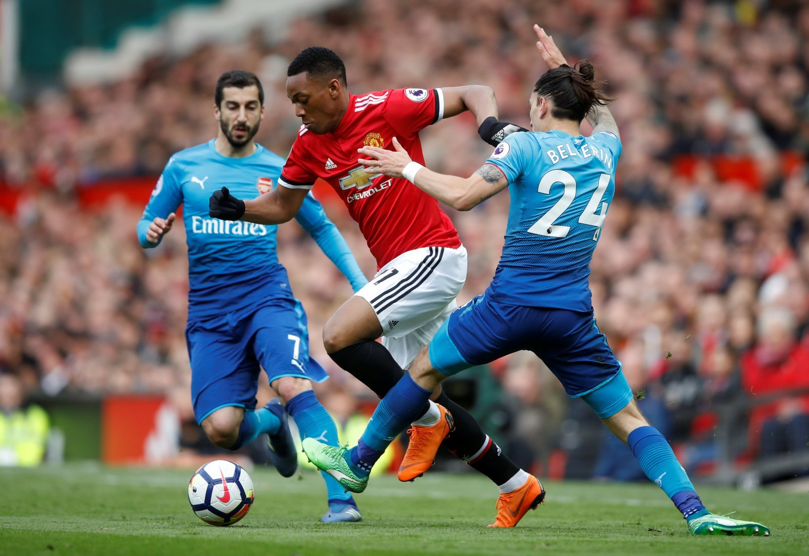 Anthony Martial could become even better than Eden Hazard at Chelsea