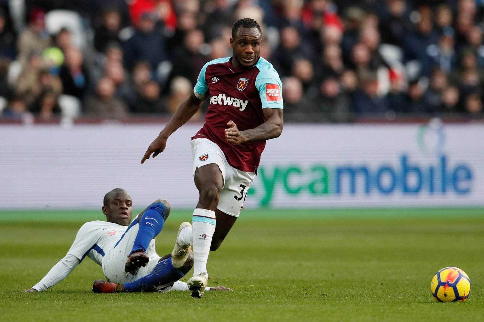Michail Antonio's biggest strength may be his biggest weakness under Pellegrini