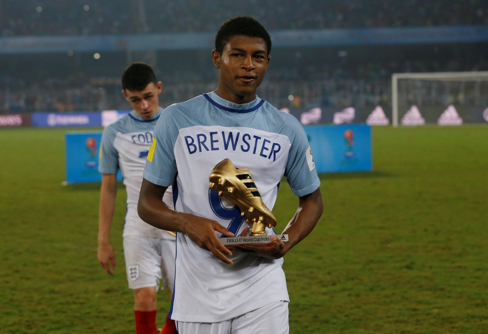 Liverpool fans on Twitter desperate to see Brewster back in action