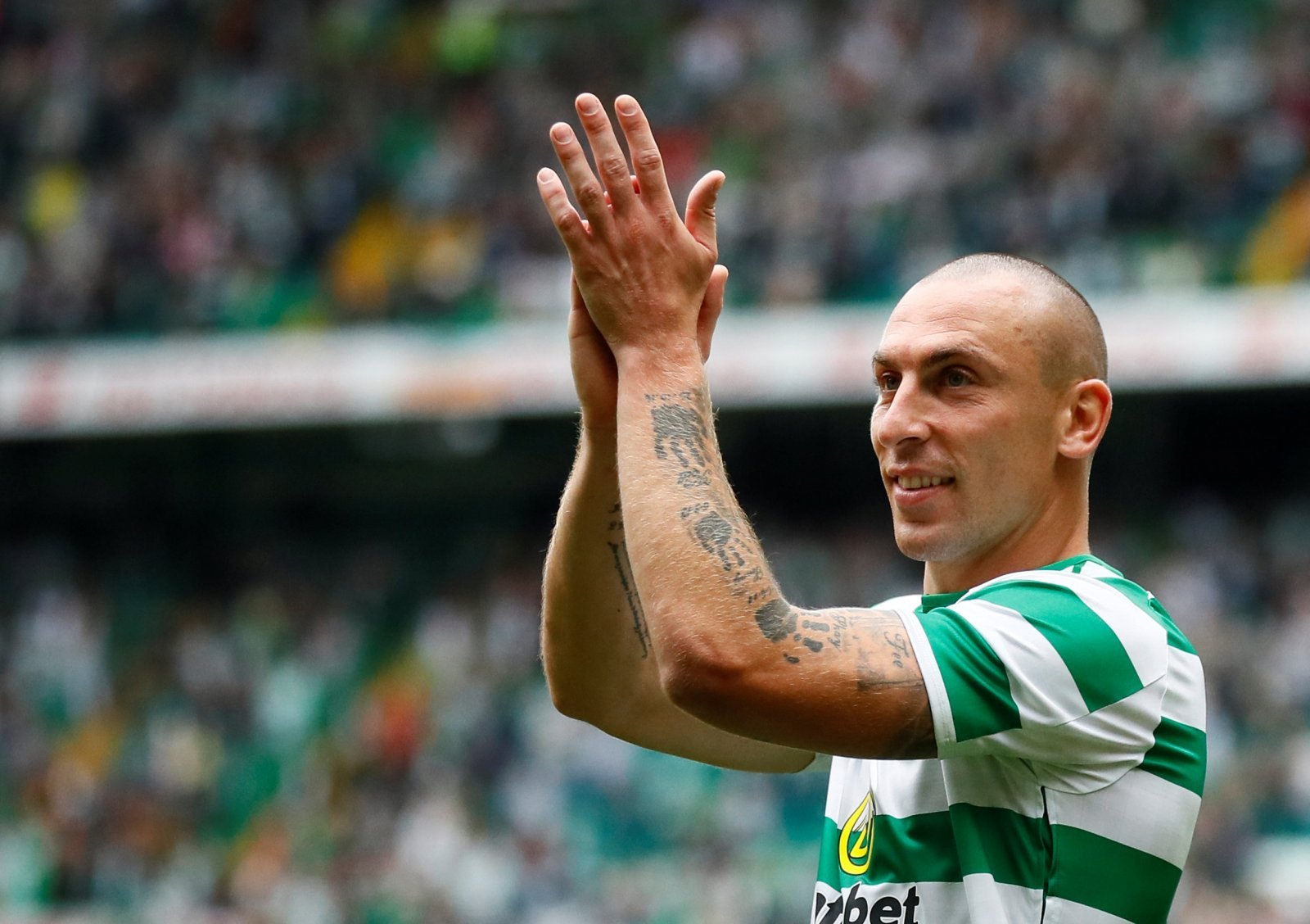 Celtic to sweat on availability of Scott Brown