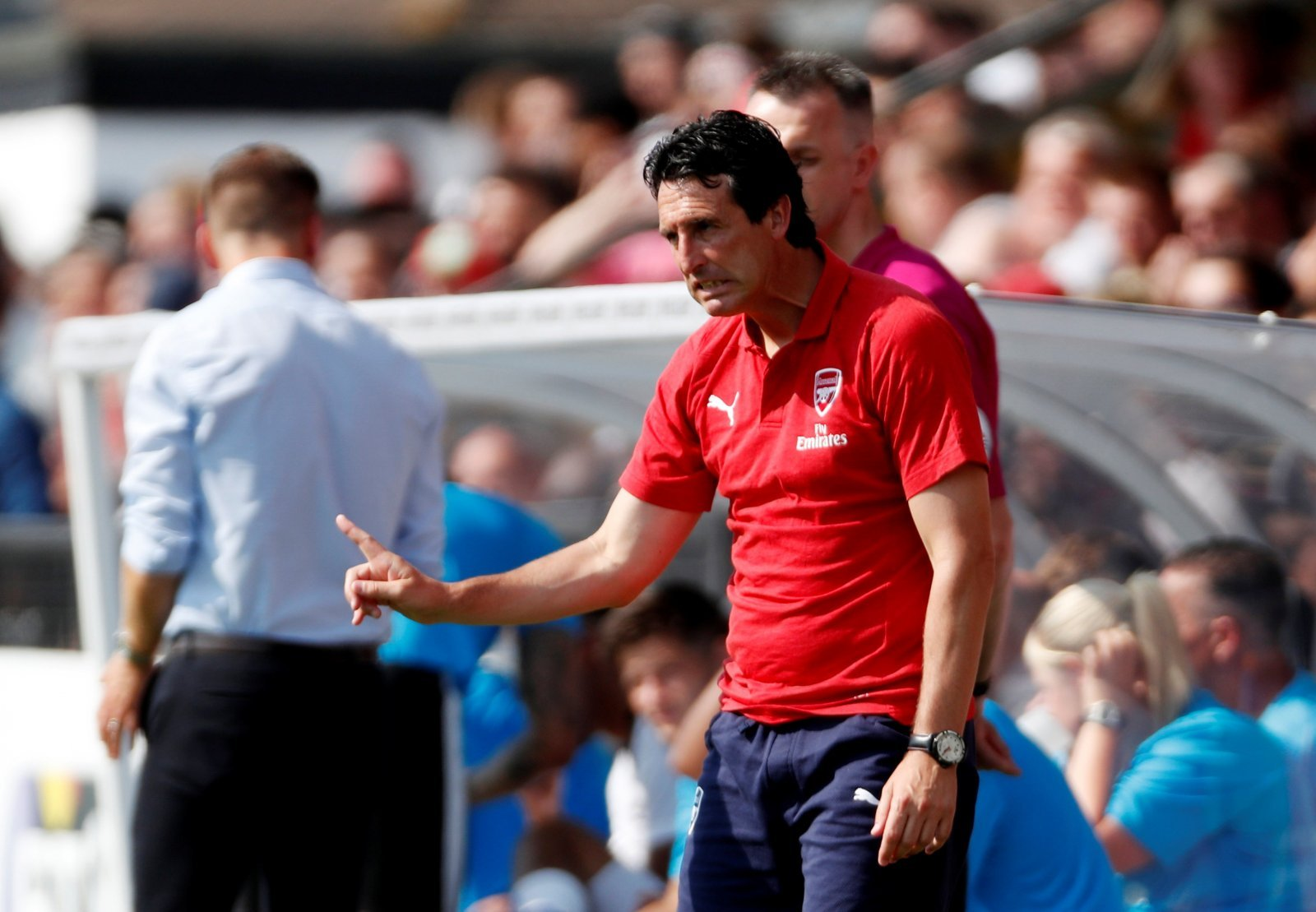 Emery is now facing the toughest test of his Arsenal tenure to date – agreed?