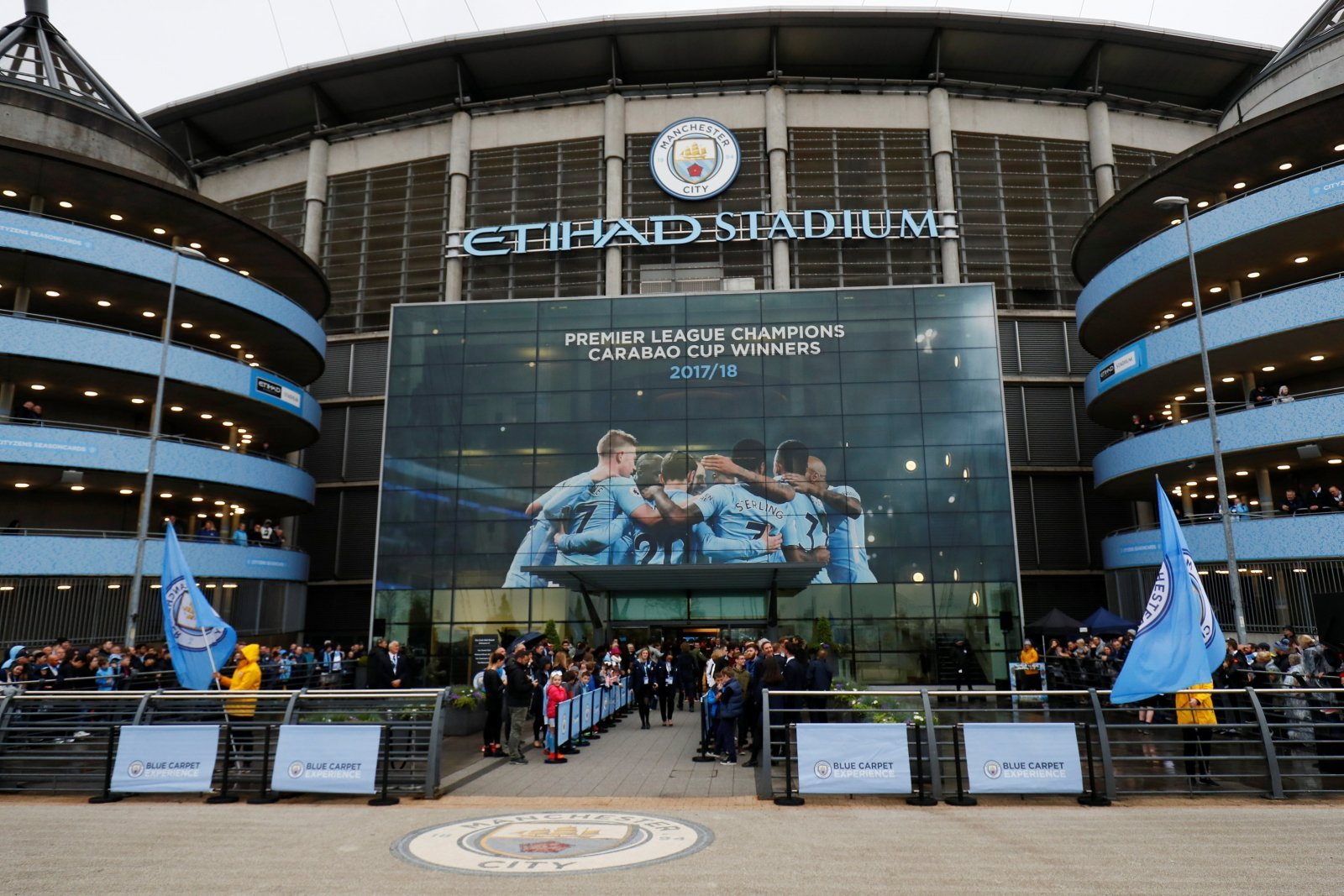 Manchester City: Fans react to new £300m stadium plans
