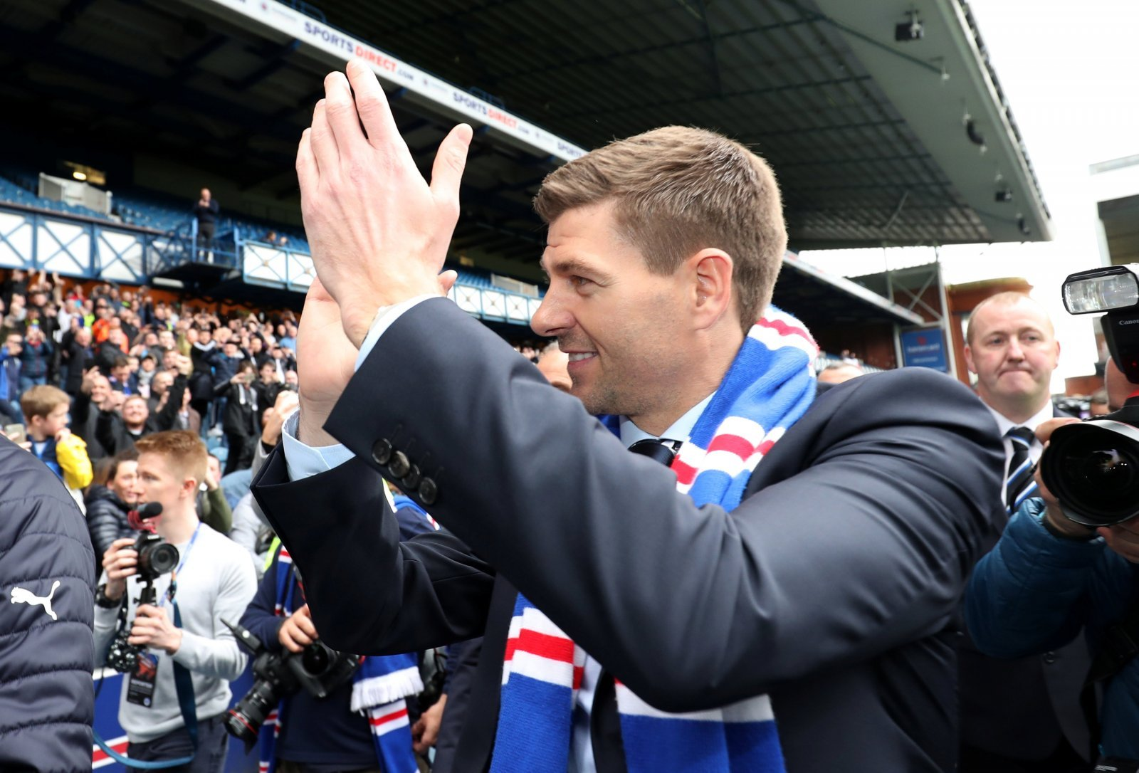 Rangers fans fuming Gerrard didn't bleed the youth into the team last night