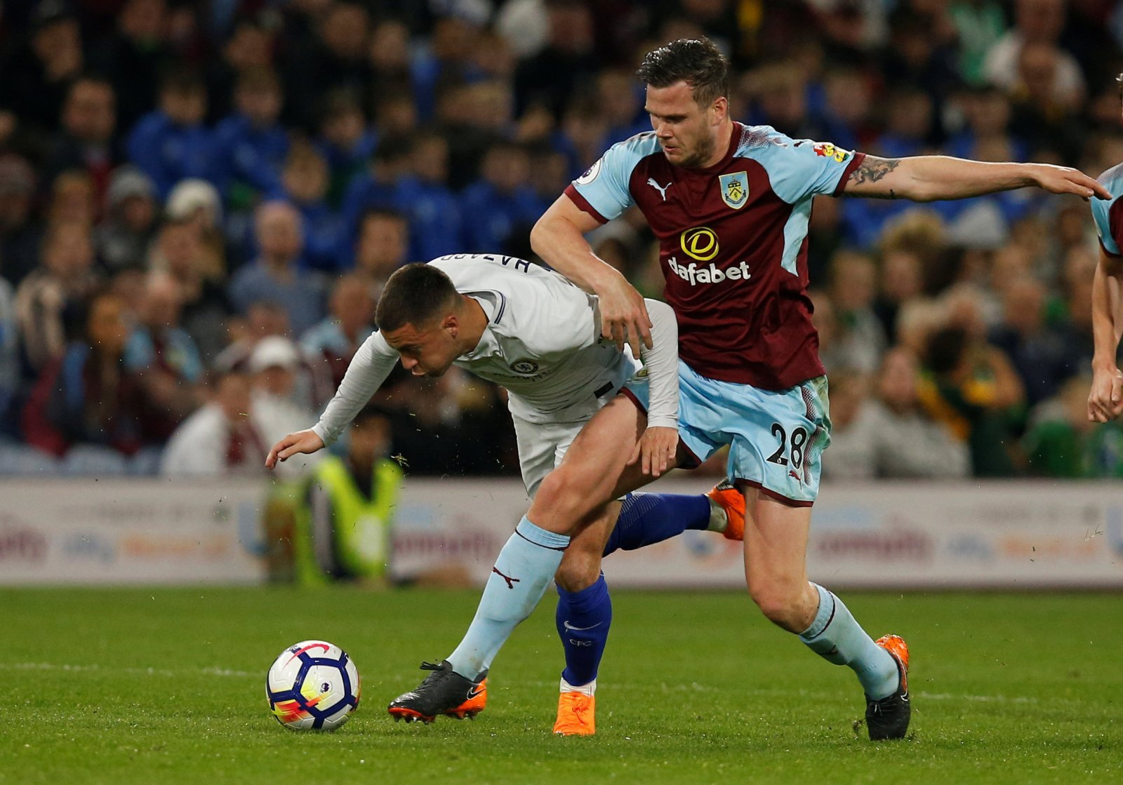Domino effect: Dawson to Burnley could open the door for Leeds to move for Long