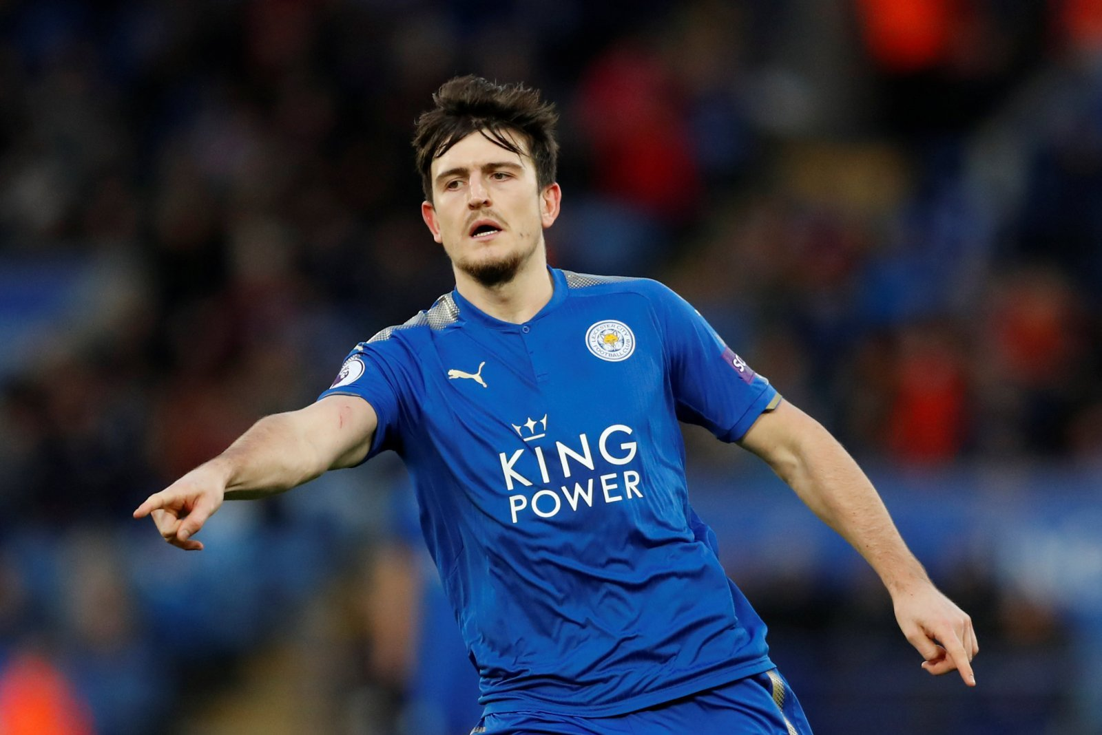 Harry Maguire signs new contract at Leicester