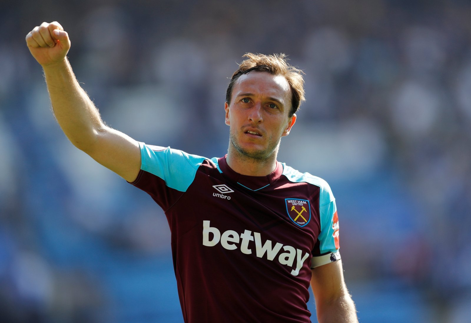 Domino effect: Possible midfield exits could give a new lease of life to Noble at West Ham