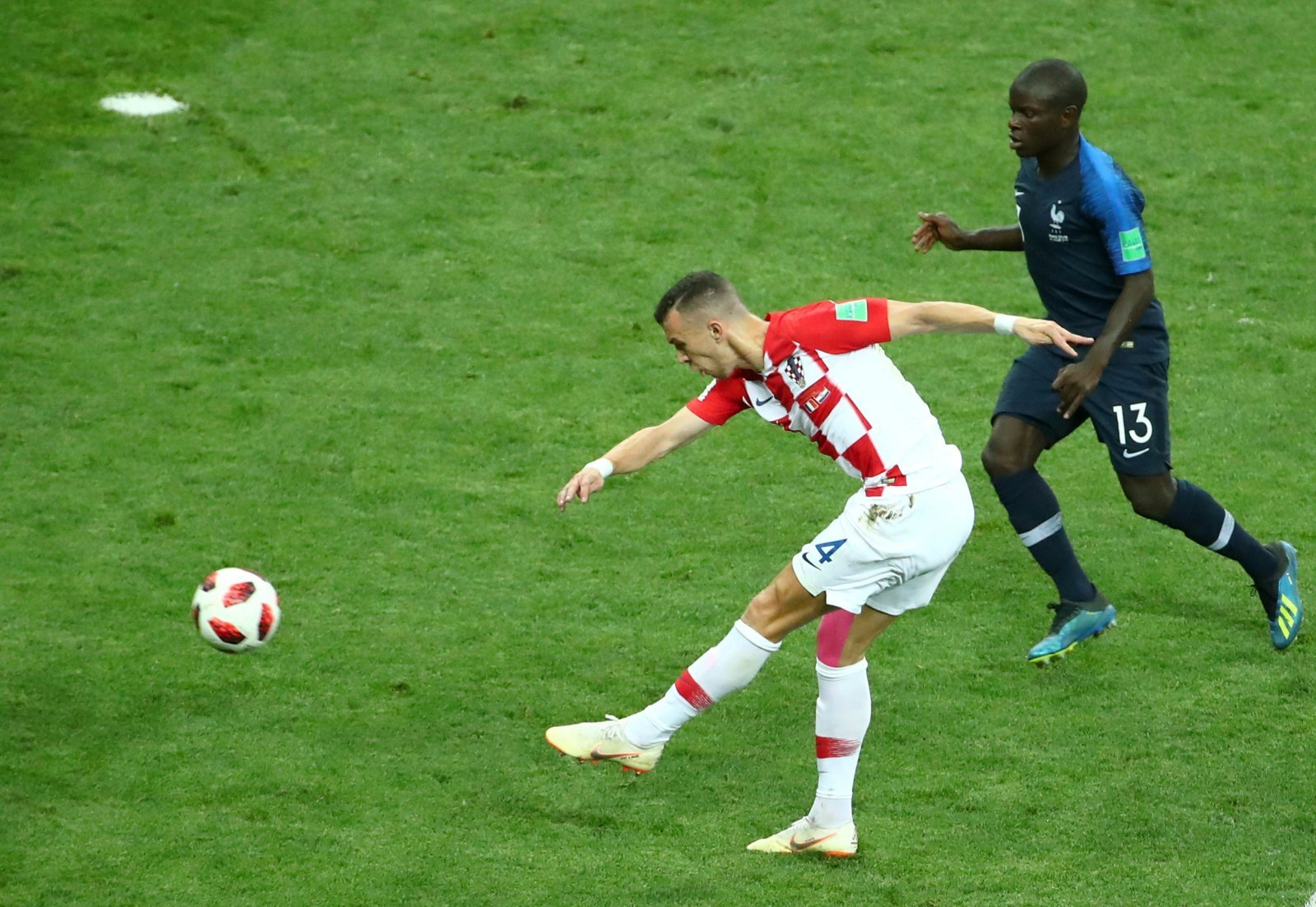 Tottenham scout Ivan Perisic ahead of possible summer move