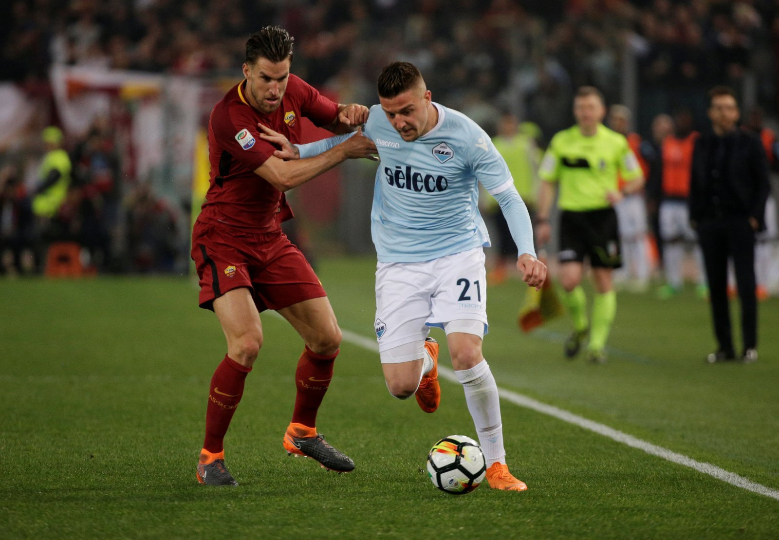 Sergej Milinkovic-Savic would be the perfect way to complete Chelsea's midfield