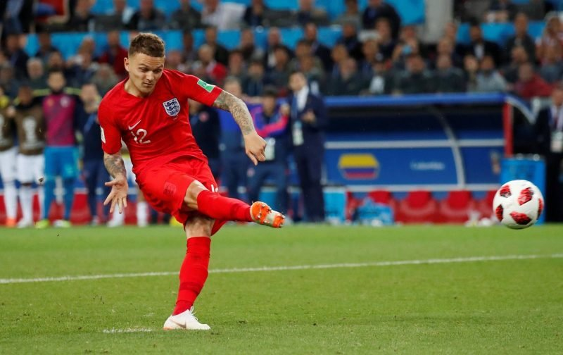 Arsenal fans on Twitter couldn't help but admire Trippier last night