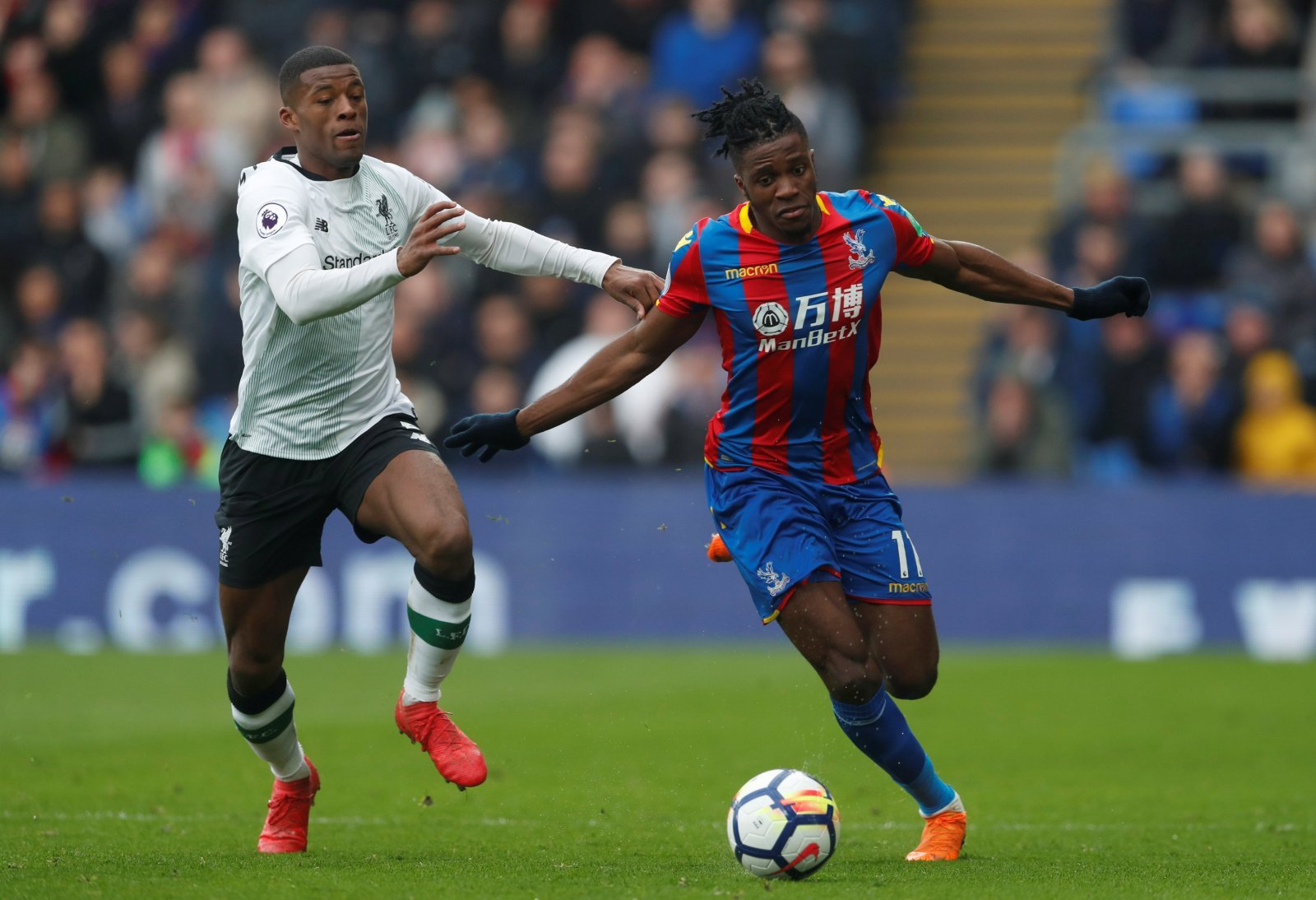 Zaha would be a sufficient enough replacement for Sterling at Manchester City