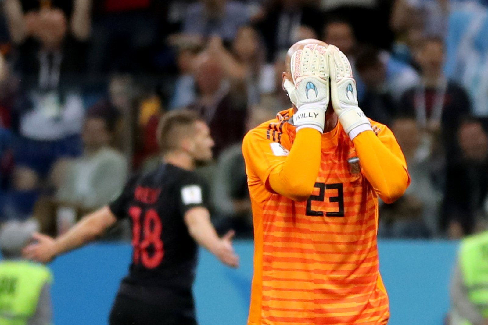 Regardless of if Courtois stays or goes, Caballero needs replacing at Chelsea