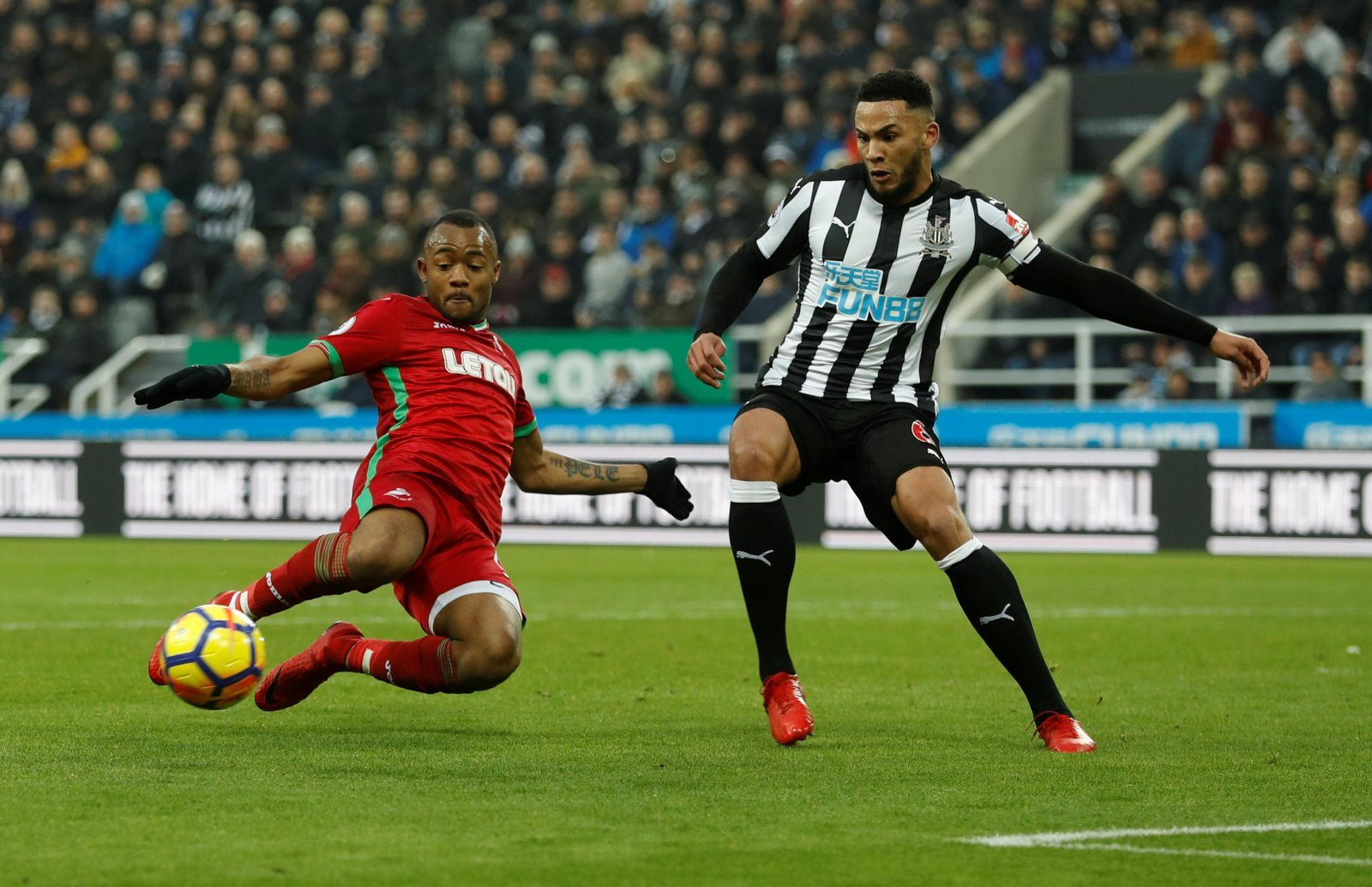Jamaal Lascelles a doubt for Newcastle