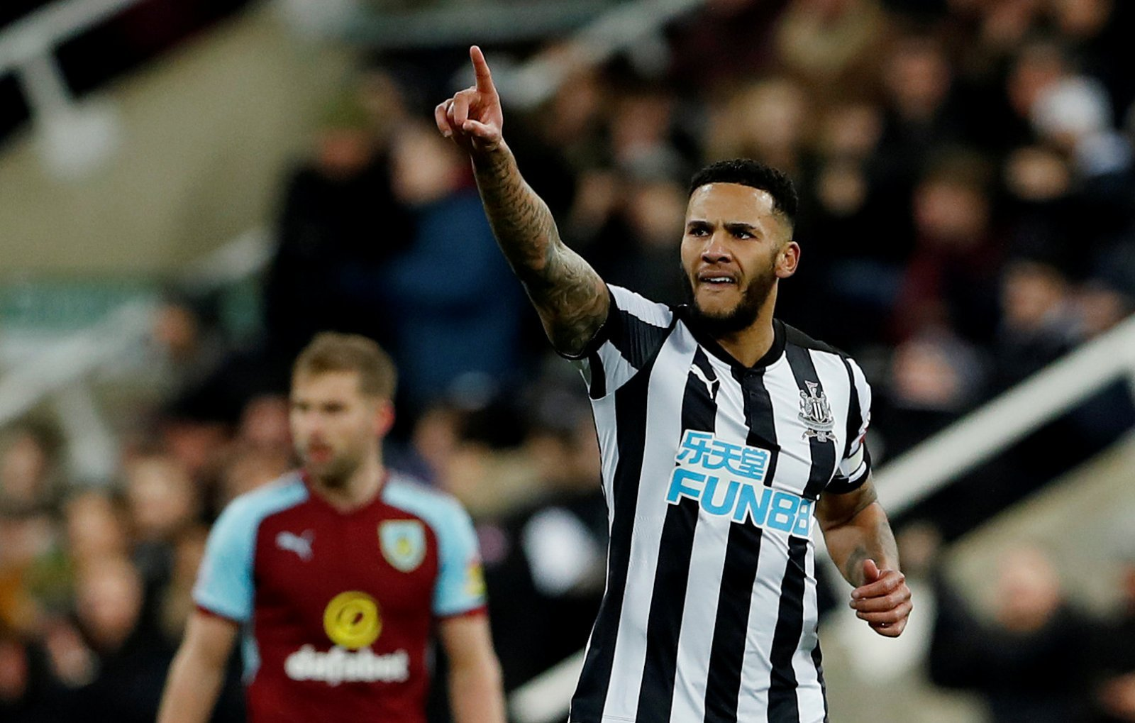 79% of Newcastle fans expect Lascelles to leave soon