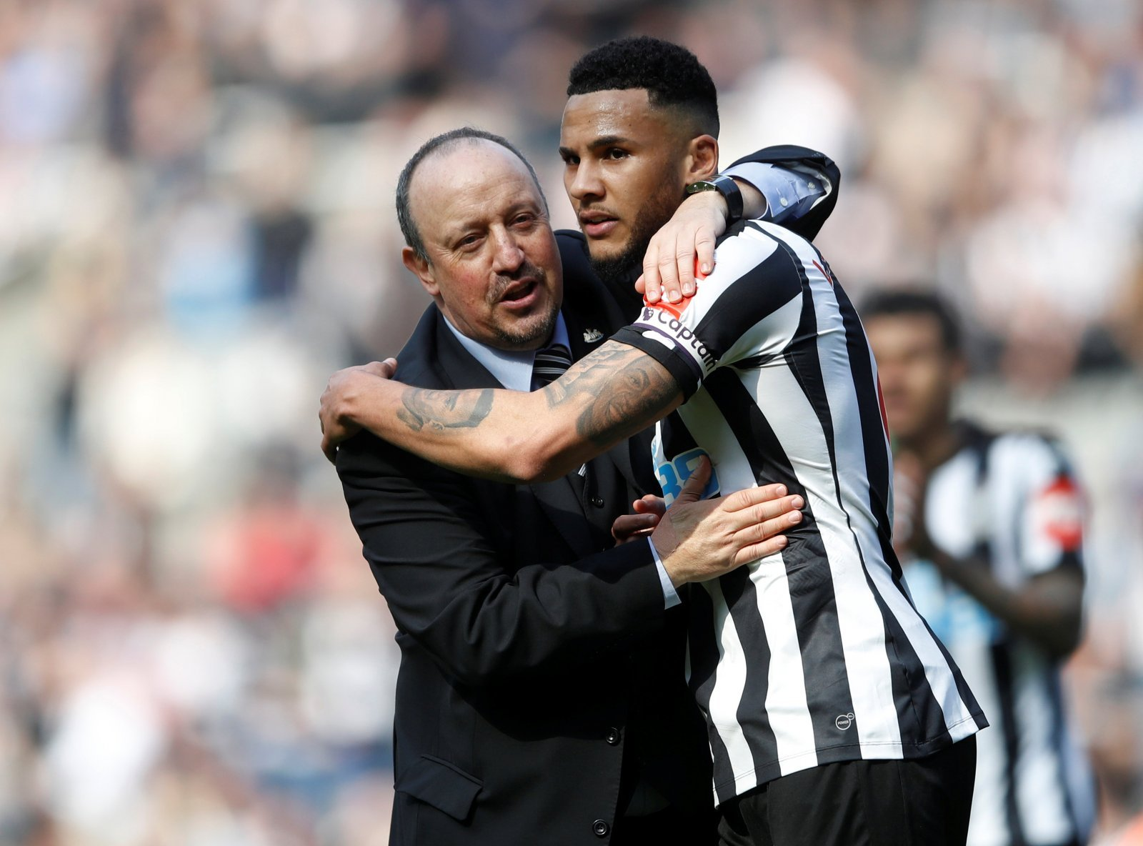 Jamaal Lascelles in a race to be fit for Crystal Palace encounter